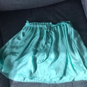 Talula Silk Mini Skirt Size (s)